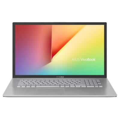 "ASUS NB X712FB-AU176C, 17,3"" FHD, Core i3-8145U (3,9GHz), 4GB, 1TB HDD, NV MX110 2GB, NOOS, Ezüst"