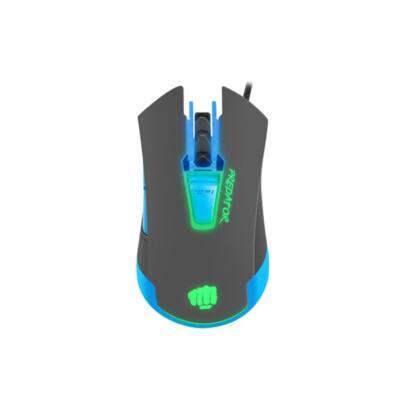 FURY Vezetékes egér PREDATOR Gaming Optikai, 4800DPI, háttérvilágítás