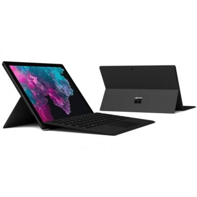 "Microsoft Surface Pro 6 - 12.3"" (2736 x 1824) - Core i5 (8250U, HD 620) - 8GB RAM - 256GB SSD - Windows 10 Pro, Blck"