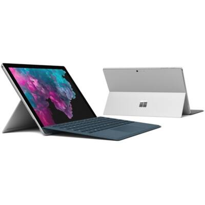 "Microsoft Surface Pro 6 - 12.3"" (2736 x 1824) - Core i7 (8650U, HD 620) - 16GB RAM - 512GB SSD - Windows 10 Home, Plat"