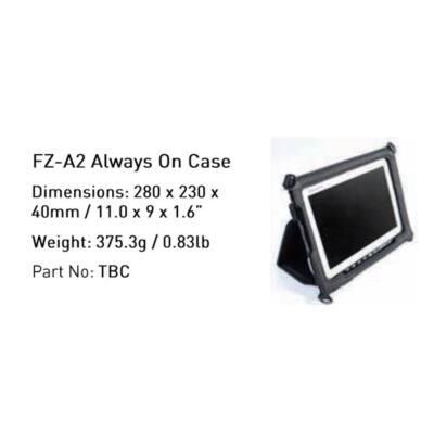 PANASONIC Táska - Infocase Always On Case - (FZ-A2)