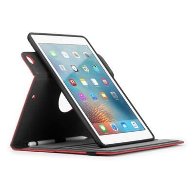 "TARGUS Tablet tok THZ63403GL, Versavu Rotating iPad (2018/2017), 9.7"" iPad Pro, iPad Air 2 & iPad Air Case - Red"