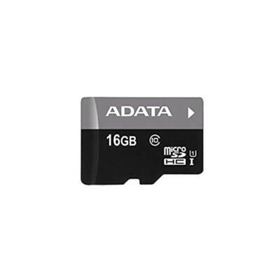 ADATA Memóriakártya MicroSDHC 16GB + Adapter UHS-I CL10 (50/10)