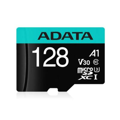 ADATA Memóriakártya MicroSDXC 128GB + Adapter UHS-I CL10 (100/80)