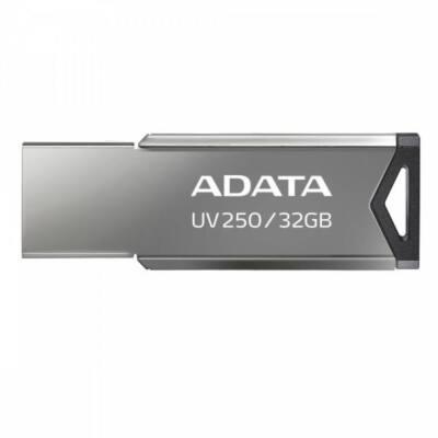ADATA Pendrive 32GB, UV250 USB 2.0, Metál, Fém ház
