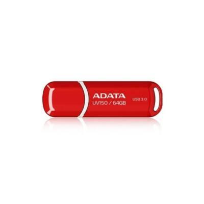 ADATA Pendrive 64GB, UV150 USB 3.1, Piros