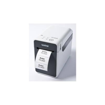 BROTHER Címkenyomtató TD-2020, direkt thermal, USB/soros, 300x300dpi, 6MB