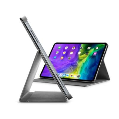 """Cellularline Tok, FOLIO, tablet, kitámasztható, iPad Pro 11"""" (2020) fekete"""