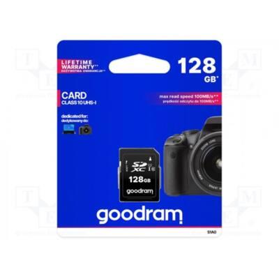 GOODRAM Memóriakártya SDXC 128GB CL10 UHS-I U1