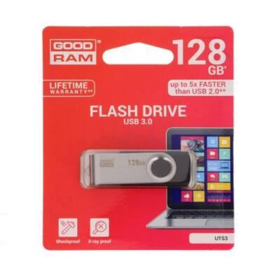 GOODRAM Pendrive 128GB, UTS3 USB 3.0, Fekete