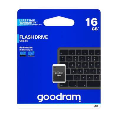 GOODRAM Pendrive 16GB UPI2 USB 2.0, Fekete