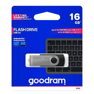 GOODRAM Pendrive 16GB, UTS3 USB 3.0, Fekete