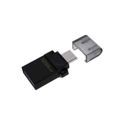 KINGSTON Pendrive 128GB, DT MicroDuo 3 G2 USB 3.0 + microUSB OTG