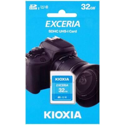 KIOXIA Memóriakártya SDHC 32GB CL10 UHS-I U1 (TOSHIBA)