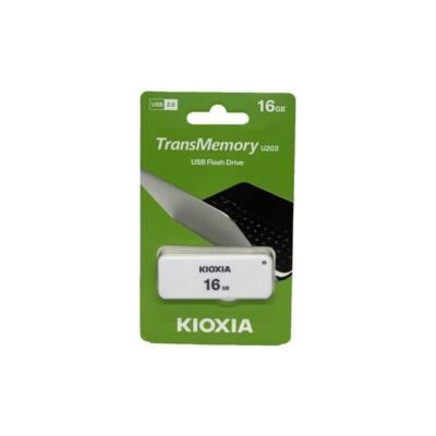 KIOXIA Pendrive 16GB, Yamabiko USB 2.0, Fehér (TOSHIBA)
