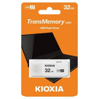 KIOXIA Pendrive 32GB, Hayabusa 3.0, Fehér (TOSHIBA)