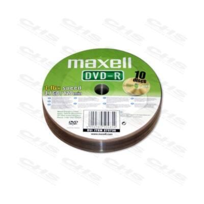 MAXELL DVD lemez -R 4.7GB 50db/Henger 16x Shrink
