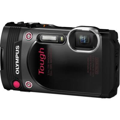 OLYMPUS Fényképezőgép TG-870, vizálló, ütésálló, fekete