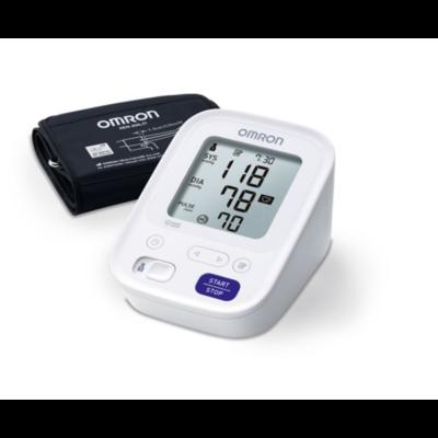 OMRON M3 Intellisense Felkaros vérnyomásmérő, automata, 2x60 méréses memória, szabálytalan szívverés érzékelés