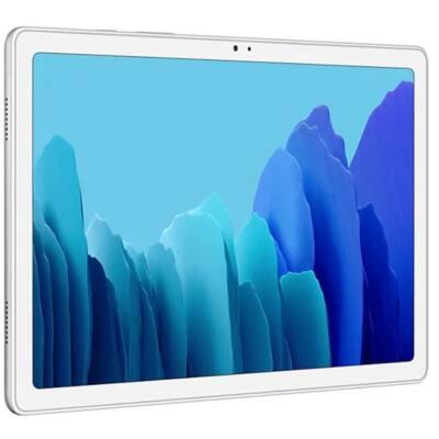 "Samsung Galaxy Tab A7 LTE, 10.4"" SM-T505NZSAEUE, 32GB, Ezüst, 7040mAh akkumulátor"