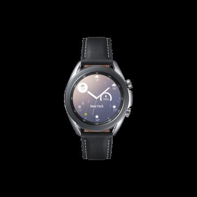 SAMSUNG Okosóra Galaxy Watch3 (41mm, Rozsdamentes acél), Misztikus Ezüst