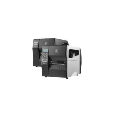 Zebra cimkenyomtató, ZT230, (300 dpi), DT, cimke leválasztó, kijelző, ZPLII, USB, RS232, Ethernet